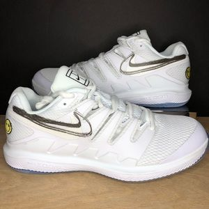 Nike Air Zoom Vapor X White Canary Tennis Shoes